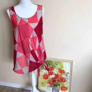 A stylish sleeveless top